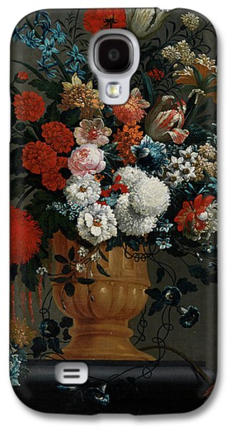 Big Flowers Still Life With Red Parrot Galaxy S4 Case by Peter Casteels the Younger