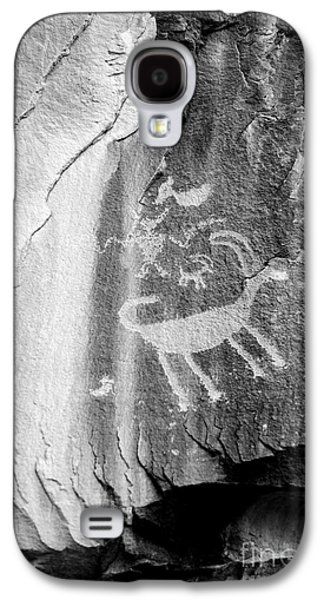 Big Horn Sheep Petroglyph 2 - Nine Mile Canyon - Utah Galaxy S4 Case