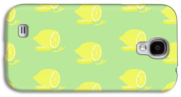 Big Lemon Flavor Galaxy S4 Case by Little Bunny Sunshine