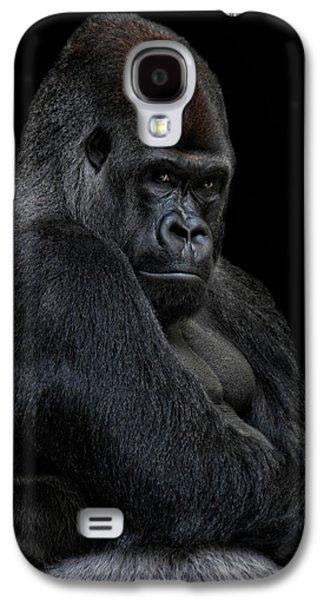Gorilla Galaxy S4 Case - Big Silverback by Joachim G Pinkawa