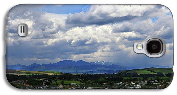 Big Sky Over Oamaru Town Galaxy S4 Case
