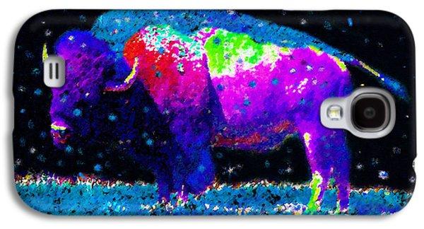 Big Snow Buffalo Galaxy S4 Case by David Lee Thompson