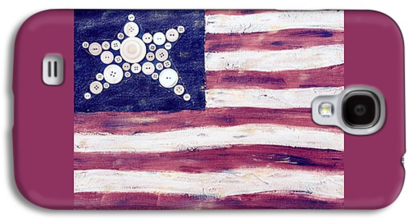 Big Star Flag Galaxy S4 Case