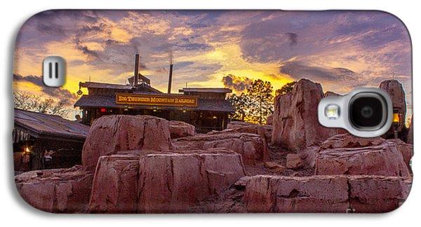 Big Thunder Mountain Sunset Galaxy S4 Case