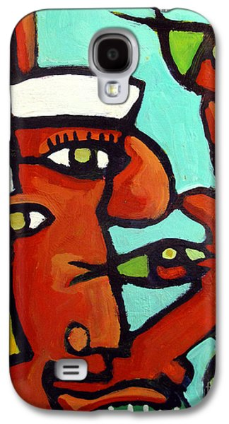 Big Topfish Juggling Duet Galaxy S4 Case by Charlie Spear