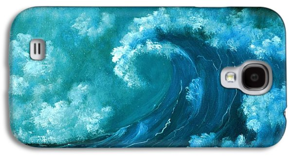 Big Wave Galaxy S4 Case by Anastasiya Malakhova