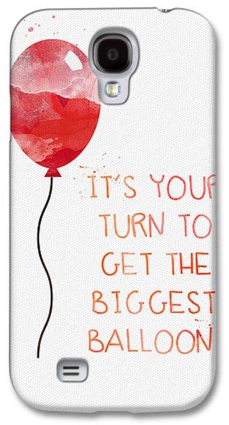 Biggest Balloon- Card Galaxy S4 Case