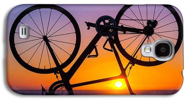 Bike On Seawall Galaxy S4 Case