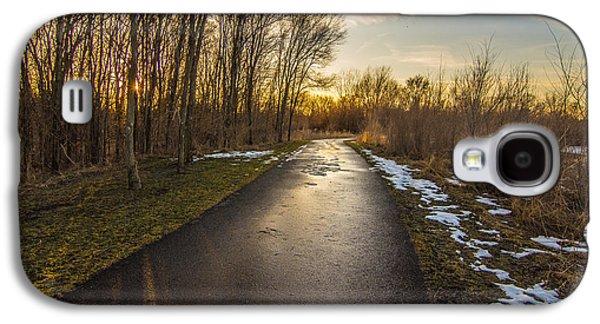 Bike Path  Galaxy S4 Case by Amel Dizdarevic