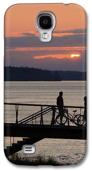 Bikers At Sunset Galaxy S4 Case