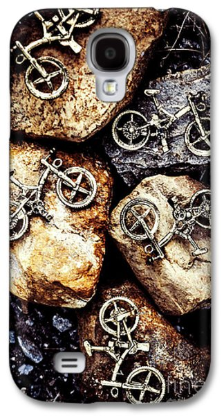 Biking Trail Scene Galaxy S4 Case by Jorgo Photography - Wall Art Gallery
