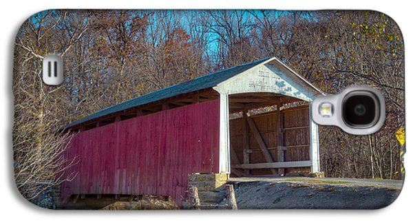Billie Creek Covered Bridge - 16 Galaxy S4 Case