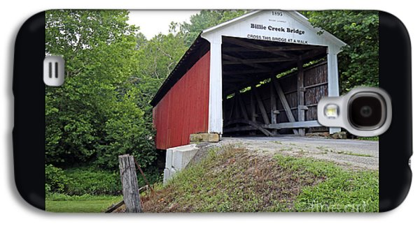 Billie Creek Covered Bridge Galaxy S4 Case