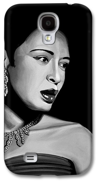 Billie Holiday Galaxy S4 Case