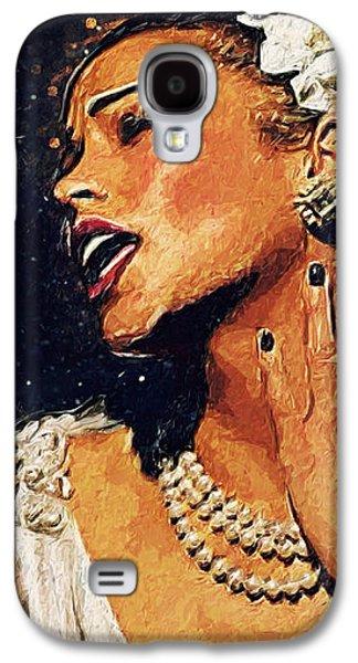 Harlem Galaxy S4 Case - Billie Holiday by Taylan Apukovska