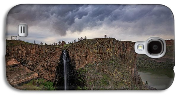 Billy Chinook Falls Galaxy S4 Case by Cat Connor