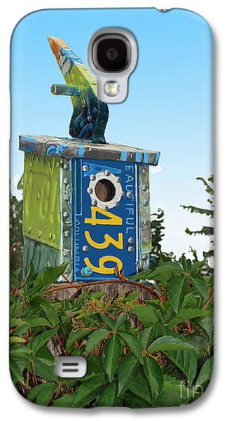 Bird House 439 Galaxy S4 Case by Bill Thomson