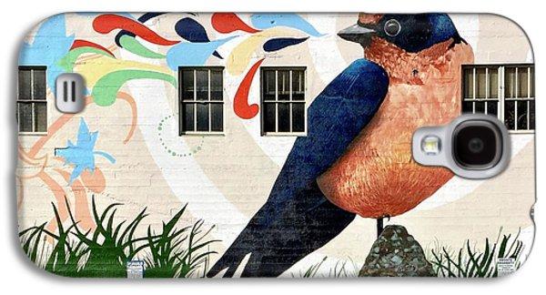 Galaxy S4 Case - Bird Mural by Julie Gebhardt