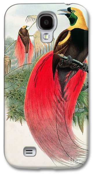 Bird Of Paradise Galaxy S4 Case by John Gould