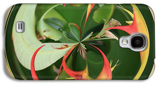 Galaxy S4 Case featuring the photograph Bird Of Paradise Orb by Bill Barber