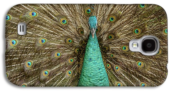 Galaxy S4 Case featuring the photograph Peacock by Werner Padarin