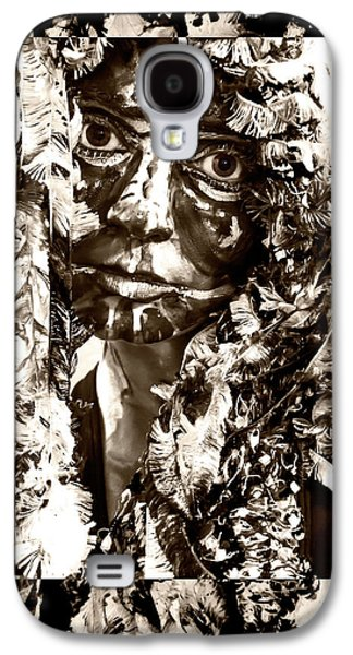 Bird Woman Galaxy S4 Case by Kipleigh Brown
