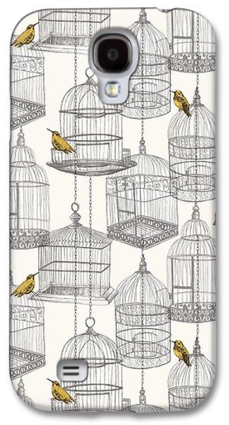 Birdcages Galaxy S4 Case by Stephanie Davies