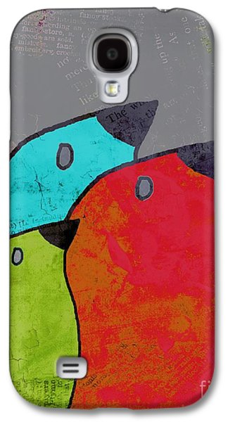 Birdies - V11b Galaxy S4 Case by Variance Collections
