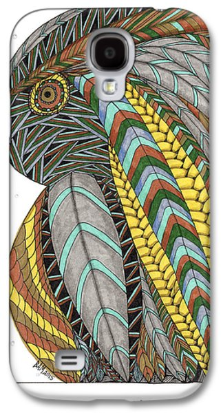 Bird_inquisitive_s007 Galaxy S4 Case