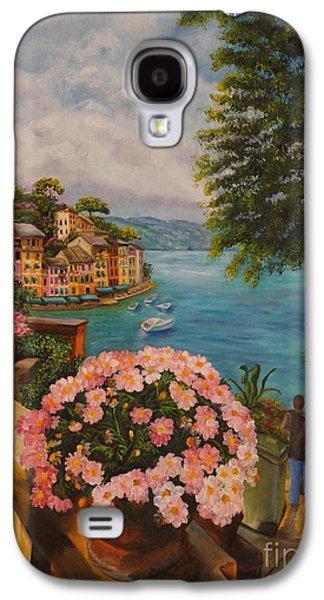 Bird's Eye View Of Portofino Galaxy S4 Case by Charlotte Blanchard