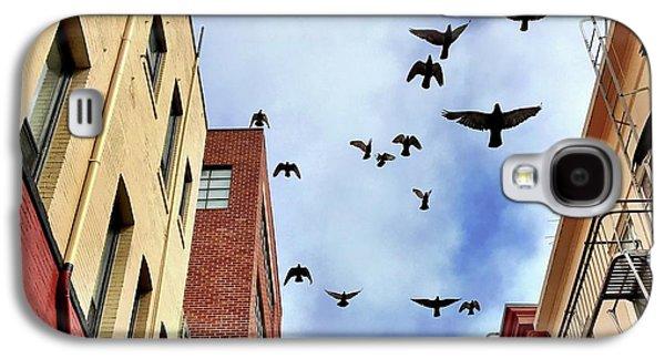 Galaxy S4 Case - Birds Overhead by Julie Gebhardt