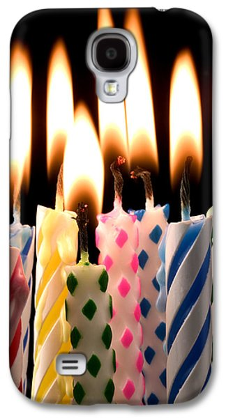 Birthday Candles Galaxy S4 Case by Garry Gay
