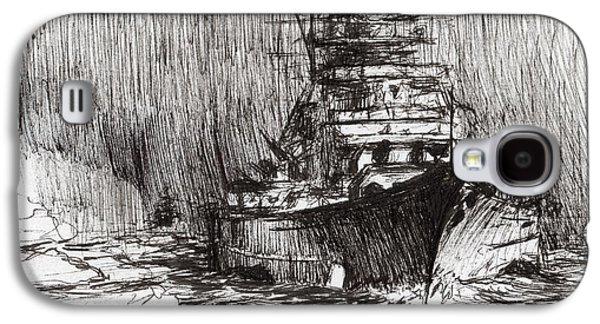 Bismarck Off Greenland Galaxy S4 Case by Vincent Alexander Booth