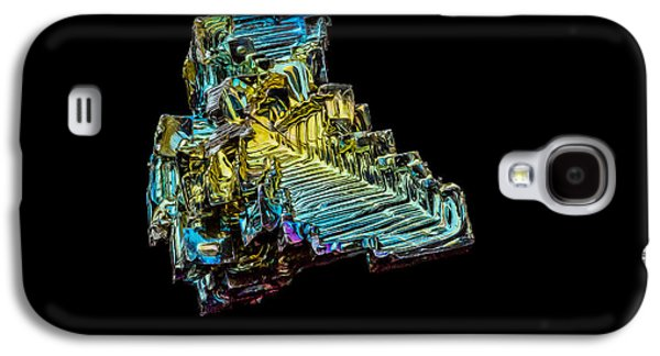 Galaxy S4 Case featuring the photograph Bismuth Crystal by Rikk Flohr