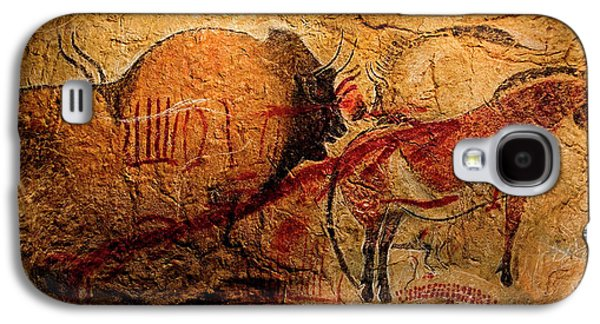 Bisons Horses And Other Animals Closer Galaxy S4 Case