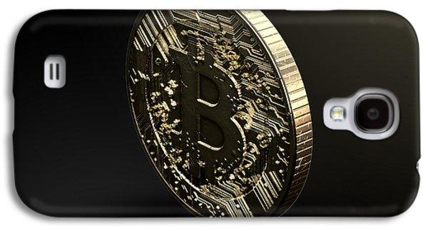 Bitcoin Physical Galaxy S4 Case