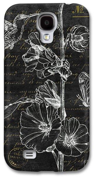 Black And Gold Hummingbirds 2 Galaxy S4 Case by Debbie DeWitt