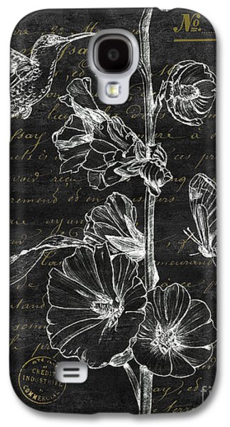 Black And Gold Hummingbirds 2 Galaxy S4 Case
