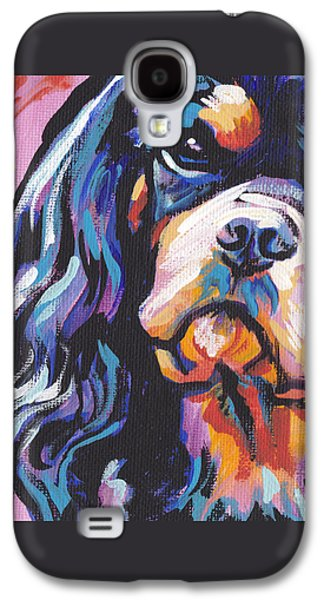 Black And Tan Cav Galaxy S4 Case by Lea S