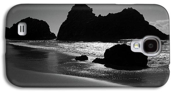 Black And White Big Sur Landscape Galaxy S4 Case by Pierre Leclerc Photography