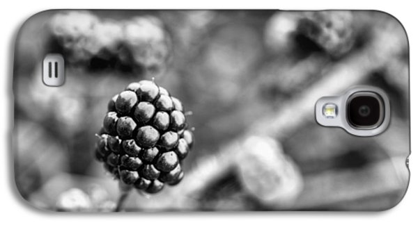 Black And White Blackberry Galaxy S4 Case by JC Findley
