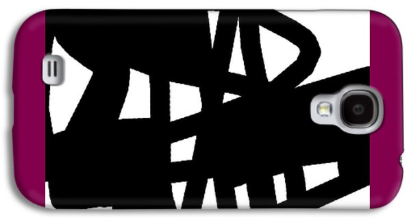 Black And White Galaxy S4 Case by International Artist Brent Litsey