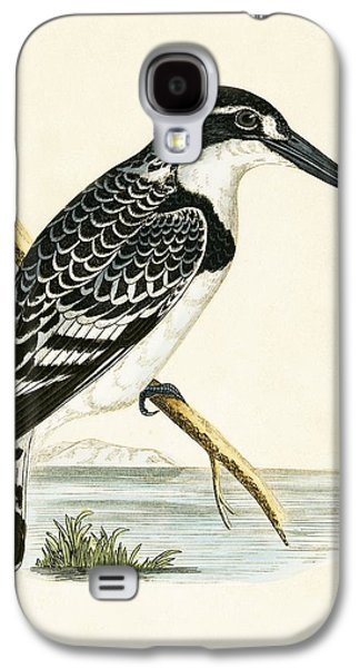 Black And White Kingfisher Galaxy S4 Case