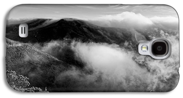 Black And White Photograph Of Fog Rising In The Marin Headlands - Sausalito Marin County California Galaxy S4 Case