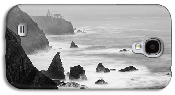 Black And White Photograph Of Point Bonita Lighthouse - Marin Headlands San Francisco California Galaxy S4 Case