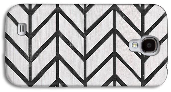 Black And White Quilt Galaxy S4 Case by Debbie DeWitt