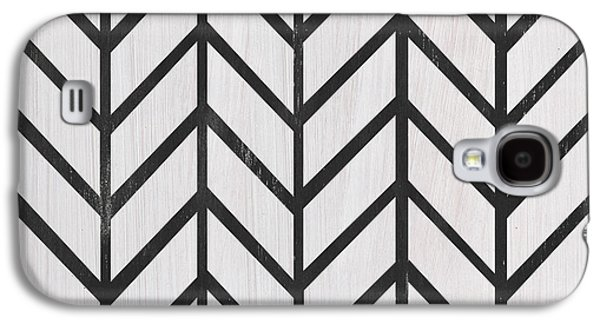 Black And White Quilt Galaxy S4 Case by Debbie DeWitt