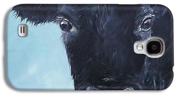 Black Angus Aggie Galaxy S4 Case