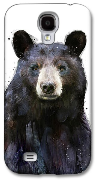 Black Bear Galaxy S4 Case by Amy Hamilton