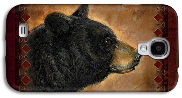Black Bear Lodge Galaxy S4 Case by JQ Licensing